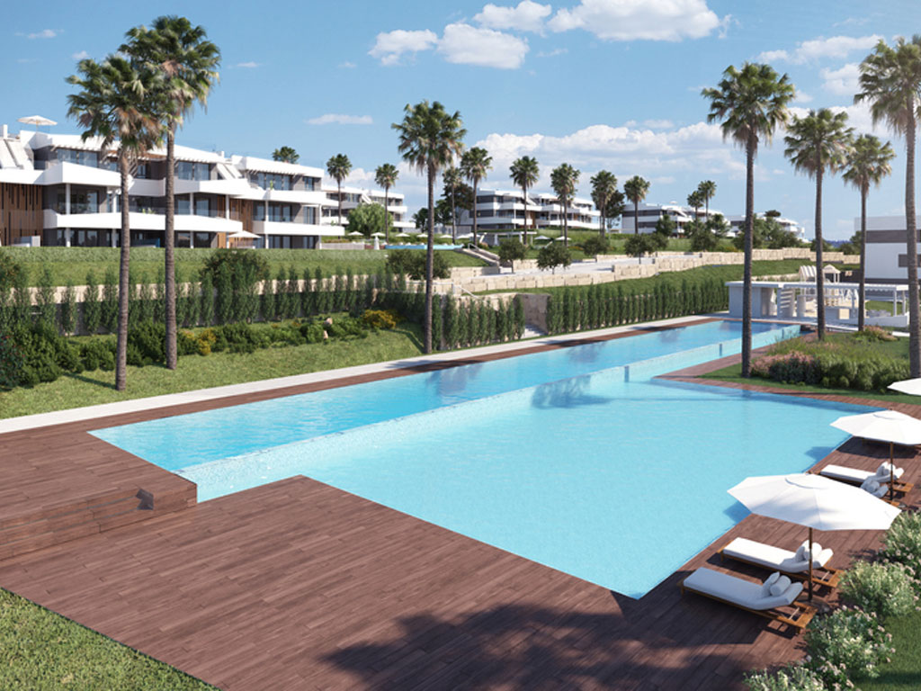 New 2,3 and 4 bed apartments in Malaga City | New Property ...