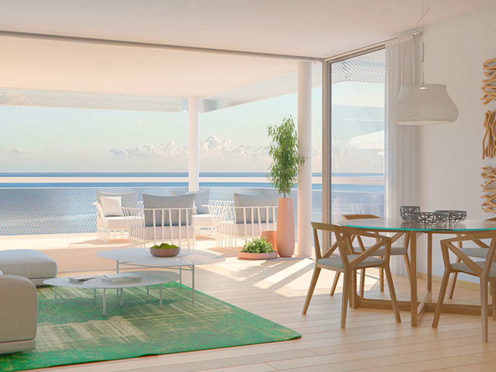 appartements modernes et penthouses benalm dena new developments costa del sol inmobillium. Black Bedroom Furniture Sets. Home Design Ideas