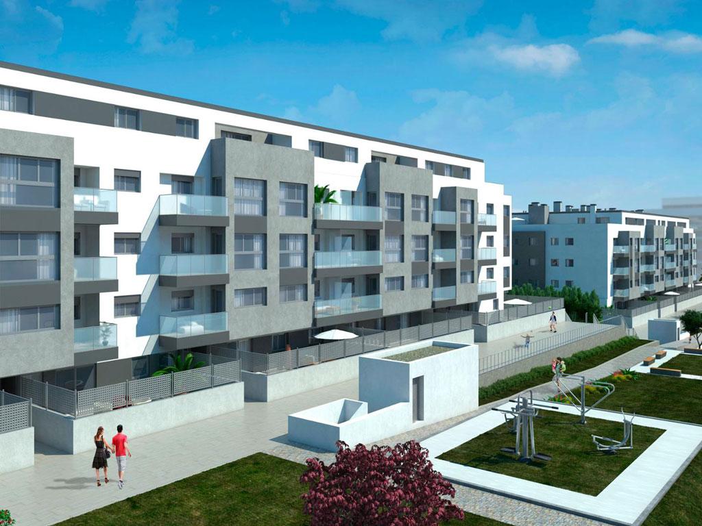 complexe d 39 appartements m laga new developments costa del sol inmobillium. Black Bedroom Furniture Sets. Home Design Ideas