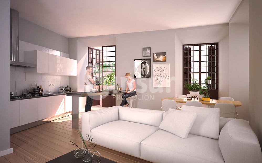 appartements dans le centre historique de m laga new developments costa del sol inmobillium. Black Bedroom Furniture Sets. Home Design Ideas
