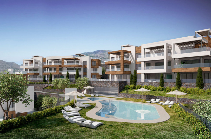 New Build Apartments & Penthouses in Fuengirola