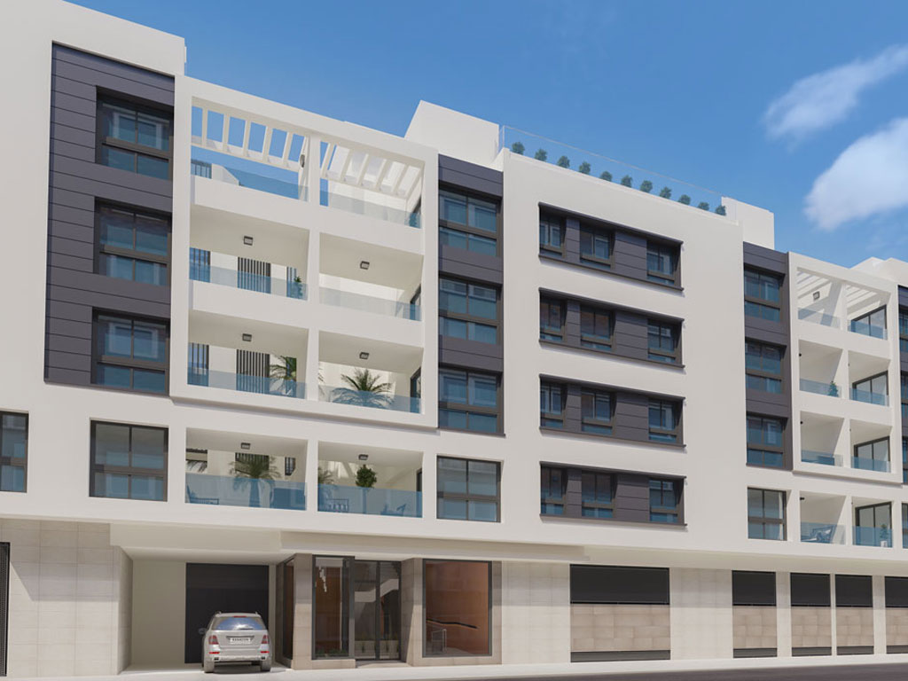 New apartments in Málaga