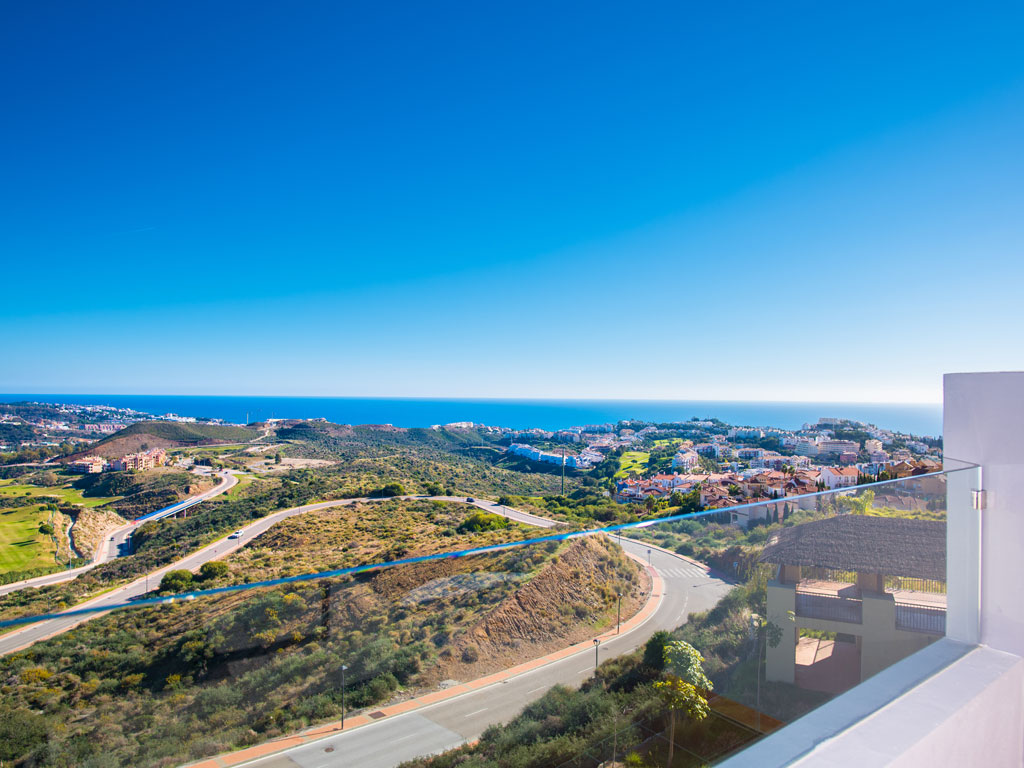 Modern Development with Stunning Sea and Mountain Views
