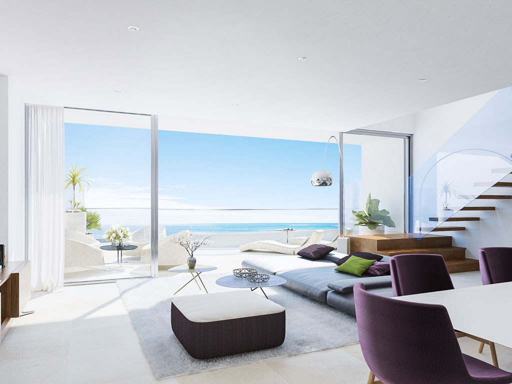 Spectacular apartments with panoramic sea views