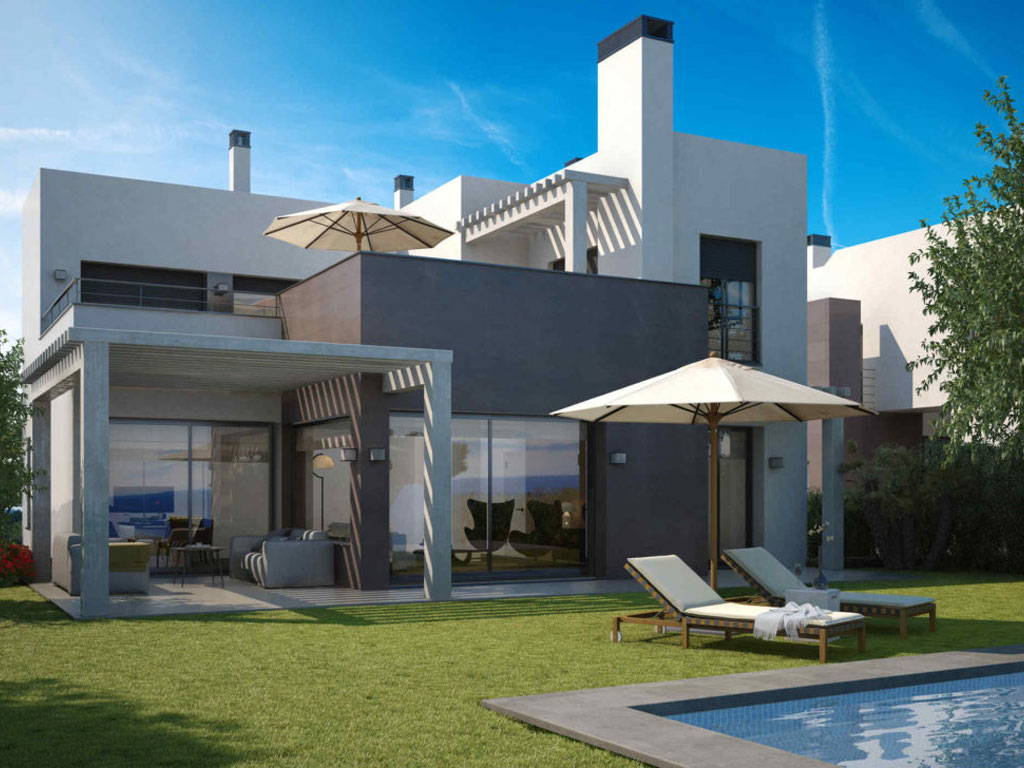 15 modern and afordable Golf side villas