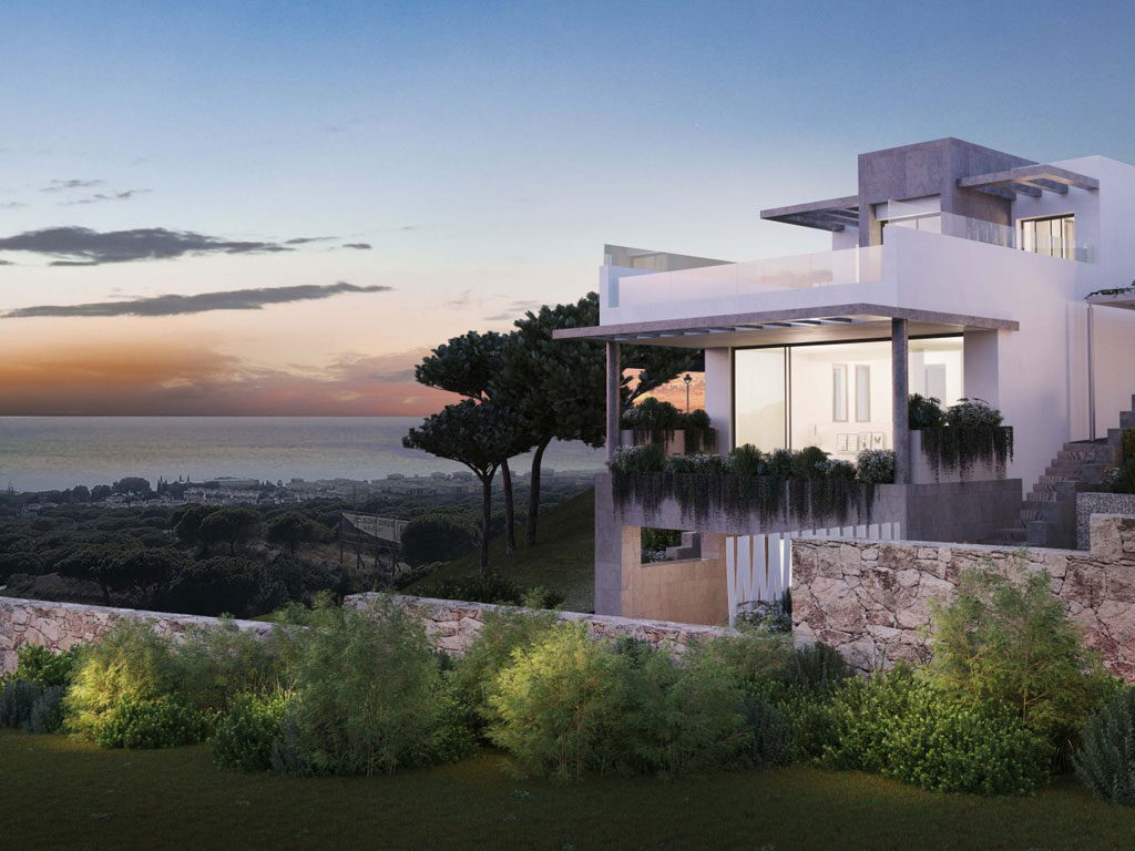 Residential complex of villas in Cabopino Golf