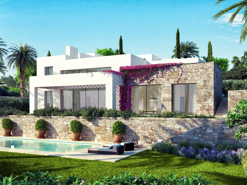 16 Contemporary-Design Villas with Spectacular Views Out Over Our Golf Course