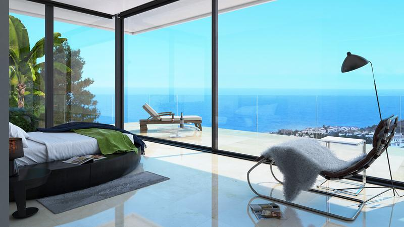 5 Spacious Detached Villas with Stunning Sea Views
