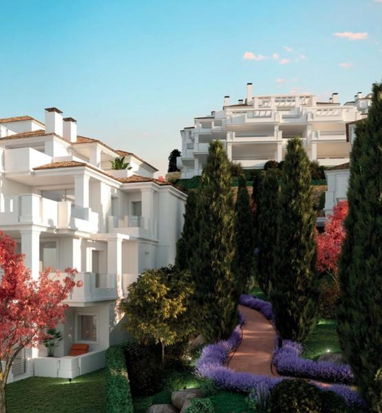 50 Spacious and Bright Apartments with a Clubhouse, Three Communal Swimming Pools and Beautifully Manicured Gardens