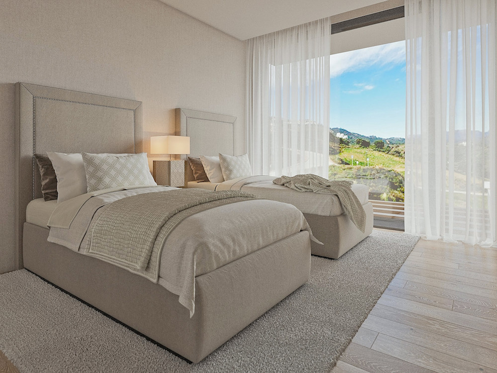 Exclusive villas next to the golf course in Mijas
