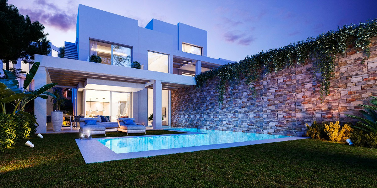 Modern & luxury frontline golf villas in Cabo Pino, Marbella