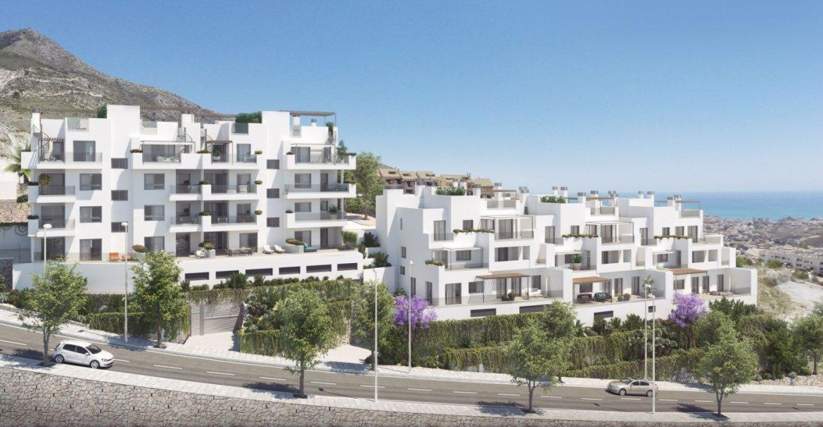 Apartments in Benalmádena Costa with wonderful sea views