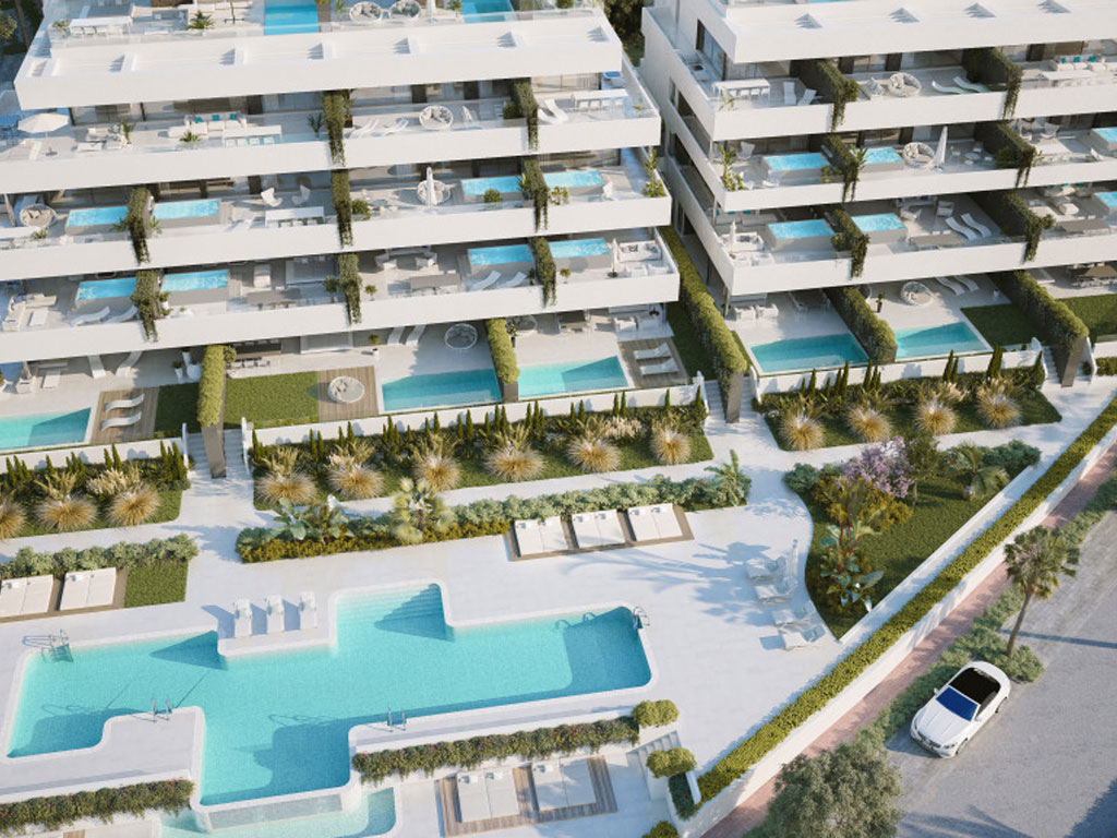 Exclusive apartments on Estepona's Golden Mile