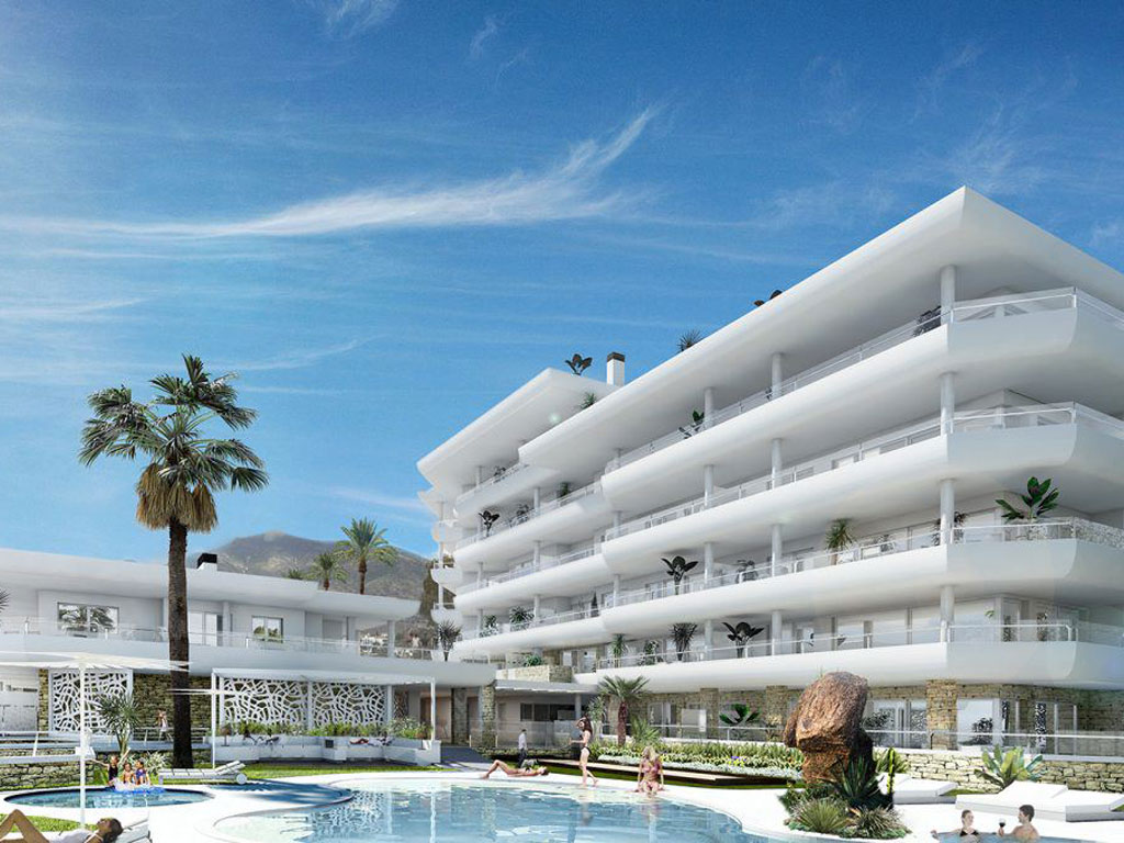Apartments & penthouses with seaviews in downtown Fuengirola