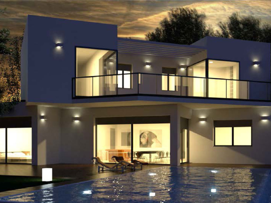 Luxurious villas on private plots at Mijas Costa