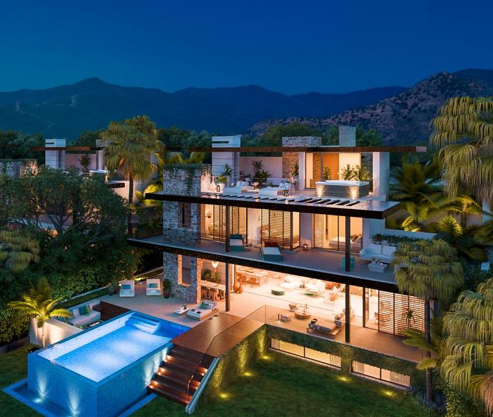 Exceptional Villas in a natural area at Benahavis