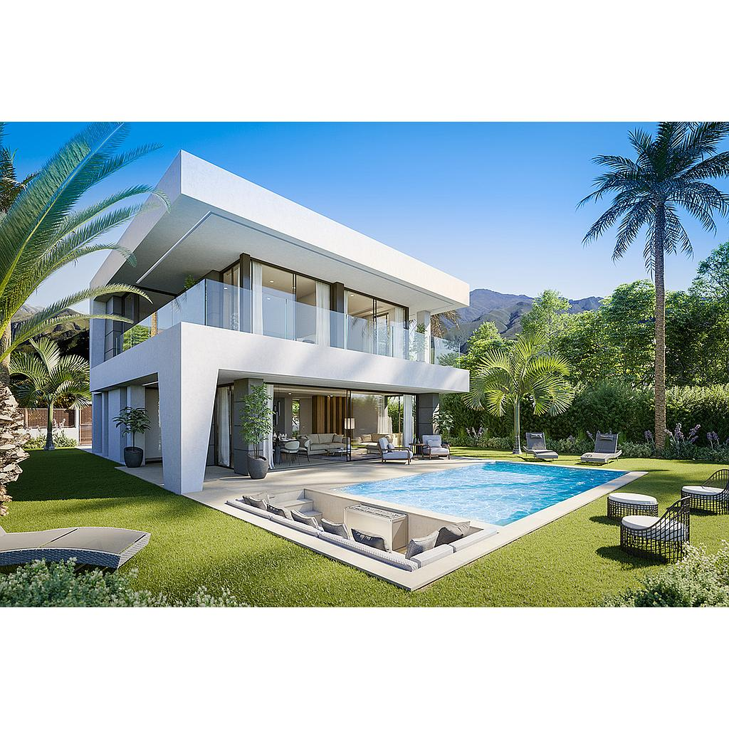 Luxurious villa located in the New Golden Mile