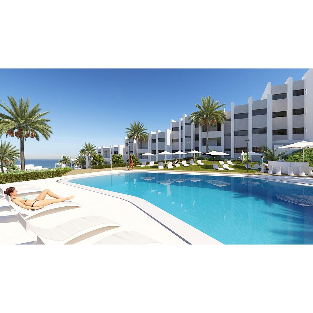 2 & 3 bedroom apartments and penthouses with stunning sea views