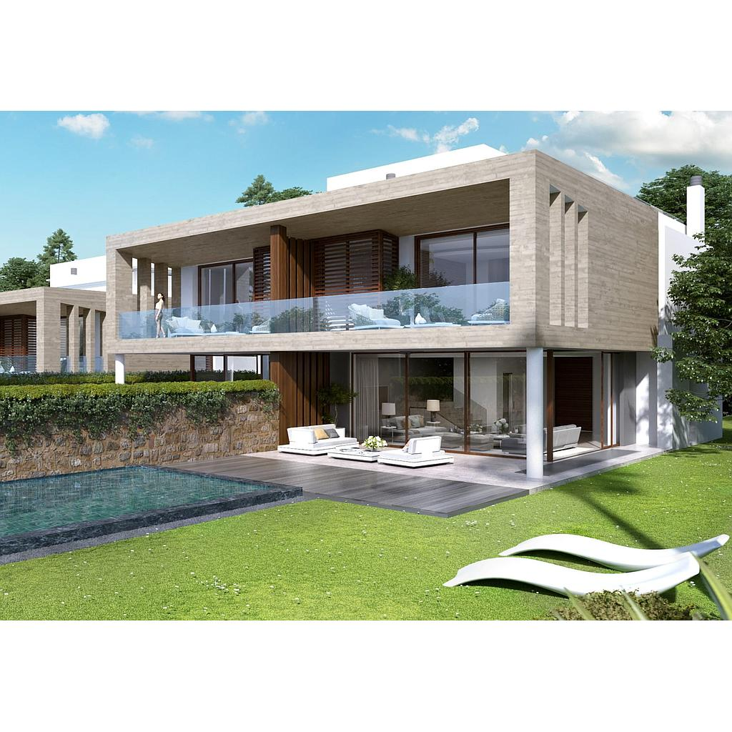 Semi detached villas in Marbella