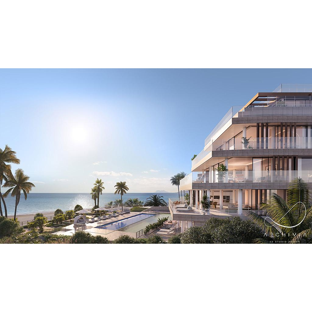 Luxury apartments in Estepona