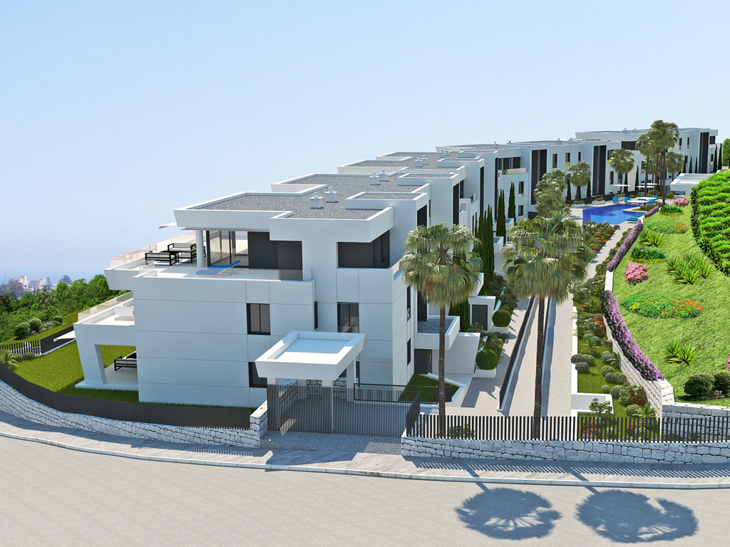 New Build Apartments in Marbella