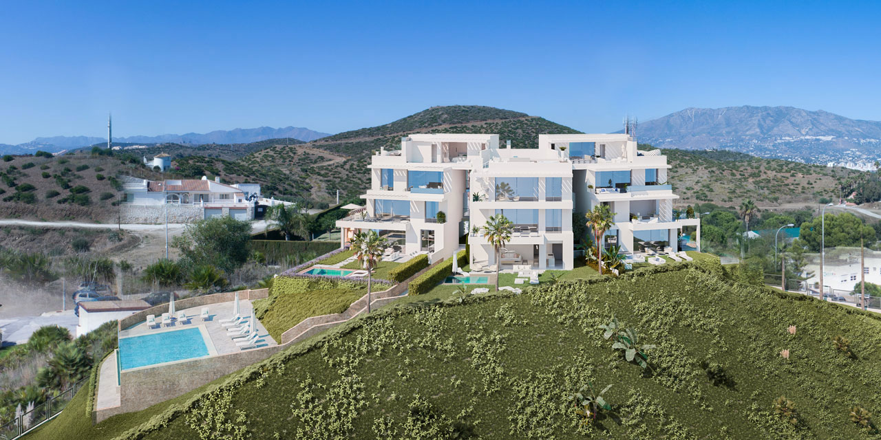 New Build Apartments in Mijas