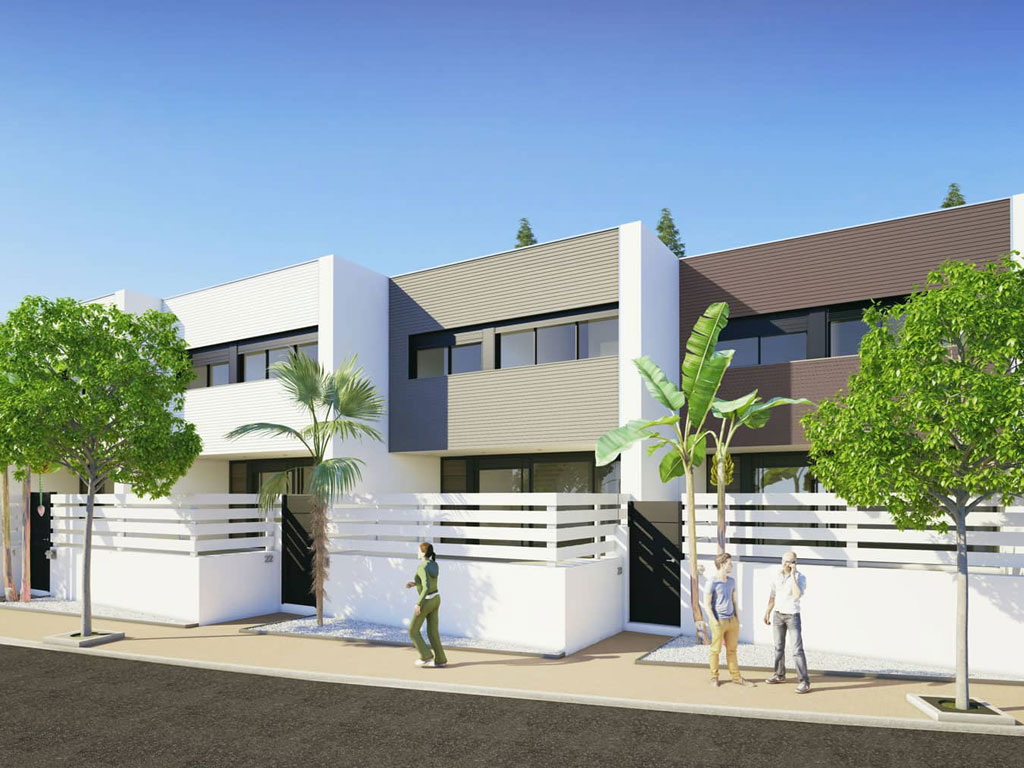 New Luxury Appartments and Townhouses in Cancelada