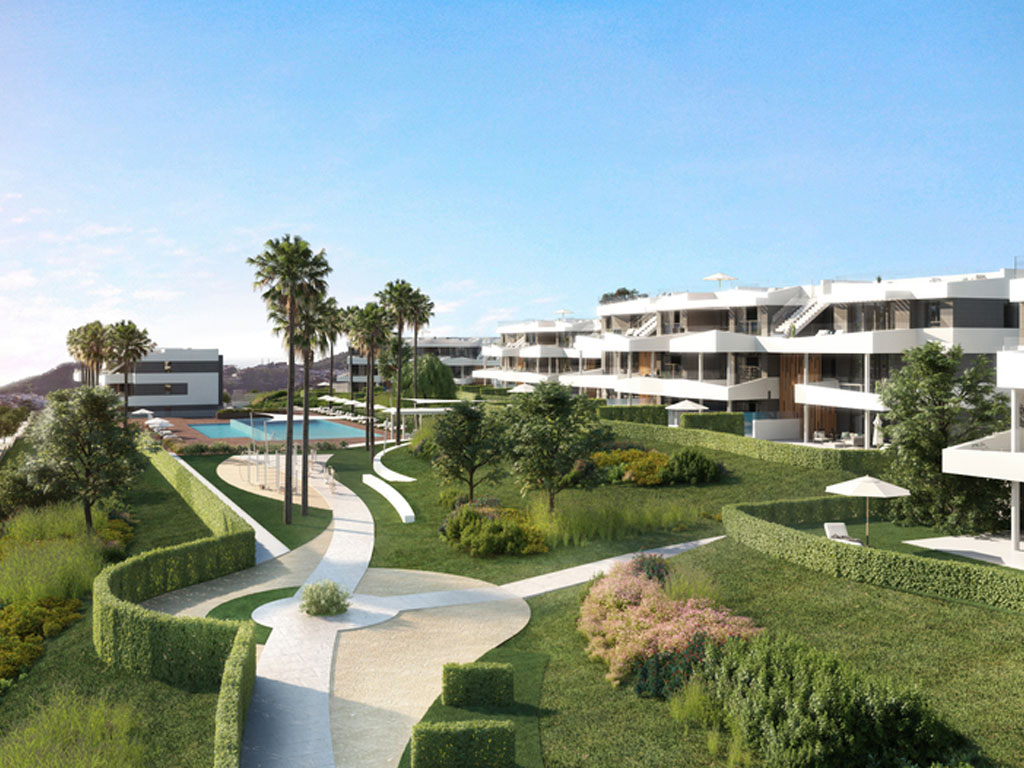 New 2,3 and 4 bedrooms in Malaga