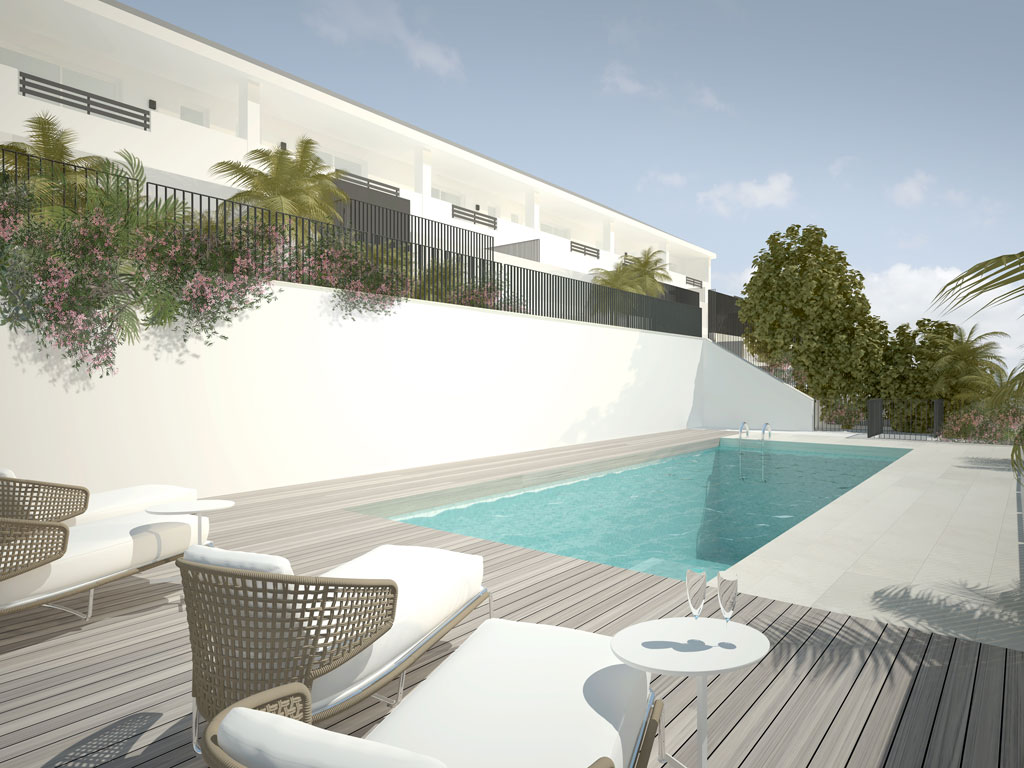 New Build Town Houses & Semi Detached Houses near Marbella