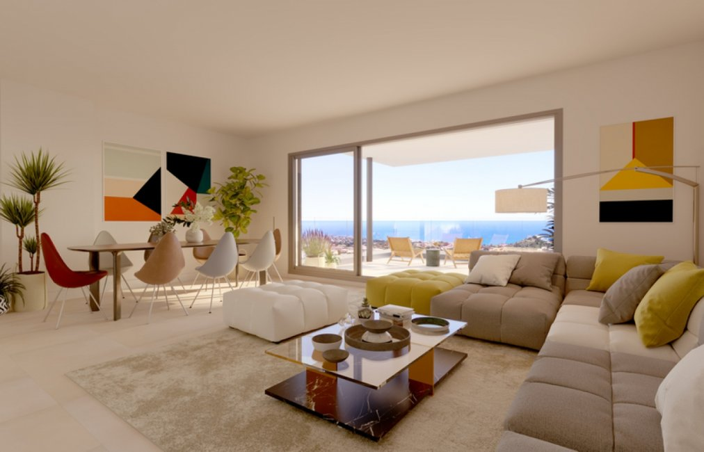 Exclusive Apartments in Benalmádena Costa with wonderful sea views