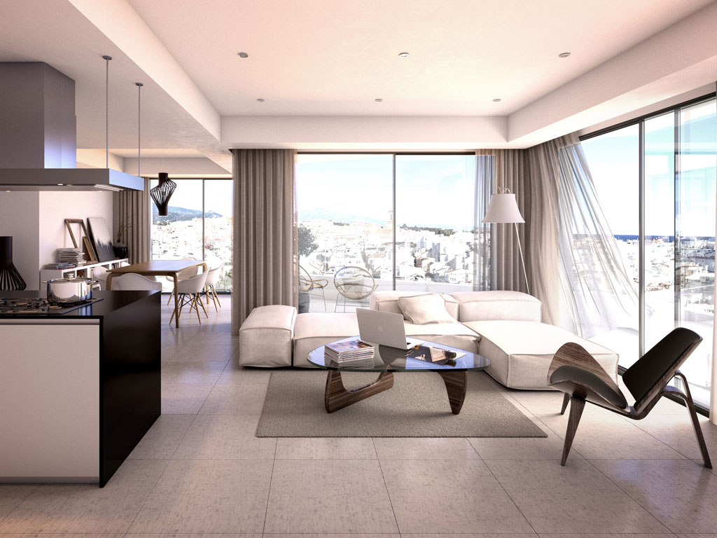 Ultramodern apartments with breathtaking sea views