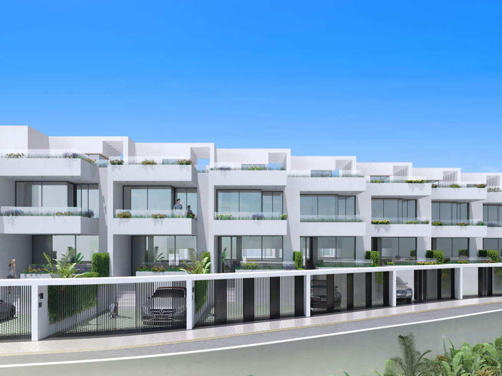 Boutique development of 47 open plan contemporary town homes