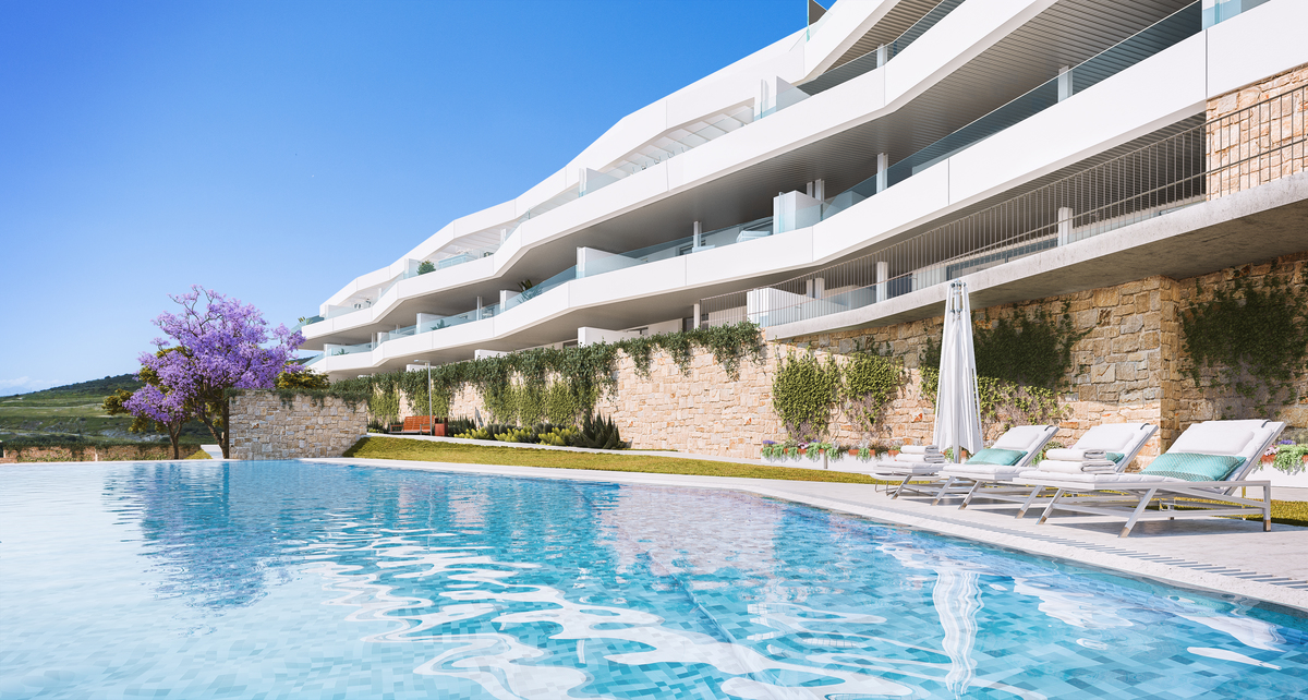 Modern Apartments at Golf in Estepona
