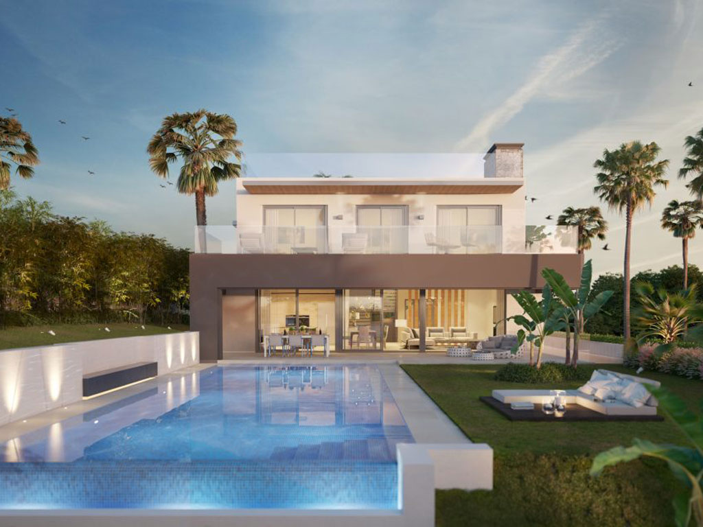 Exclusive villas with open spaces