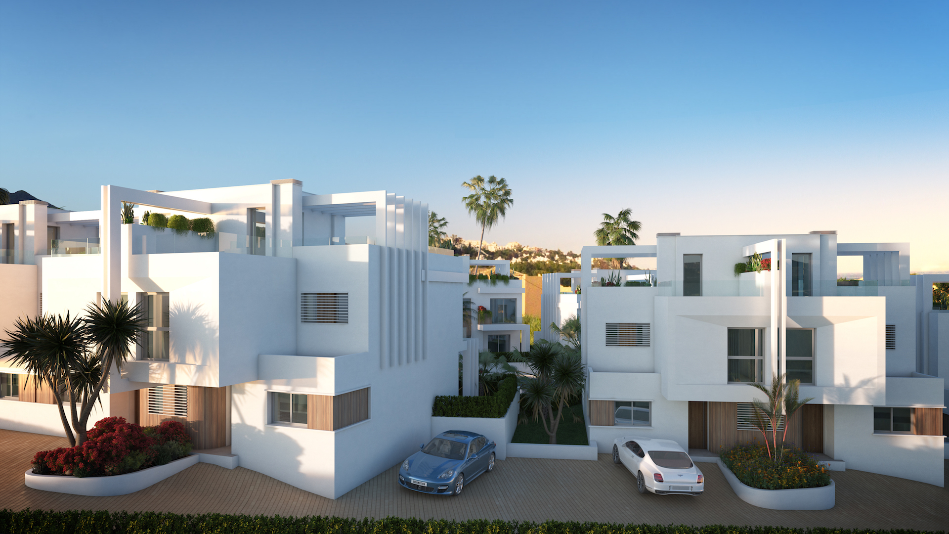 Semi Detached golf villas near Casares Beach