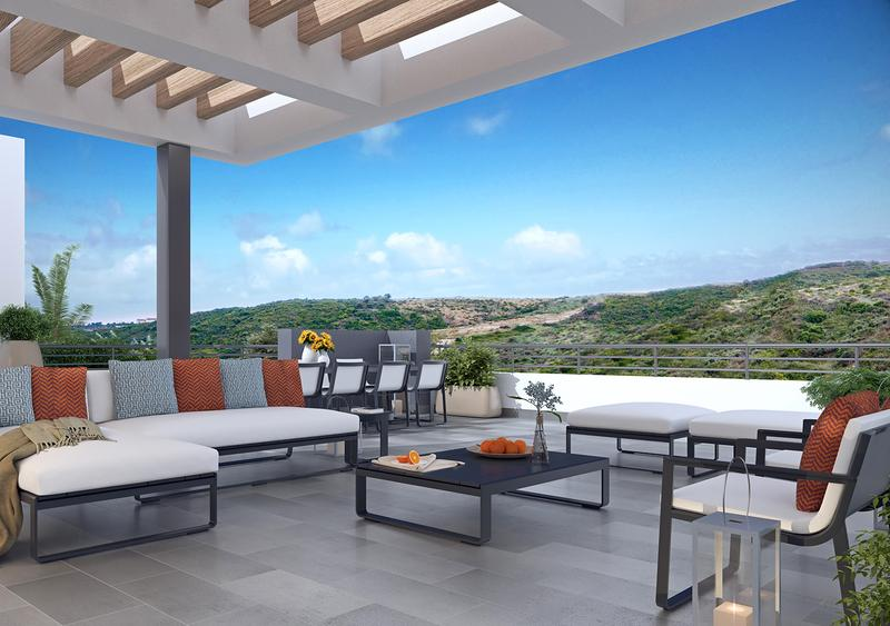 2-3Bedroom Homes With Panoramic Terraces Or Gardens, And Spectacular Attics That OverLook The Sea