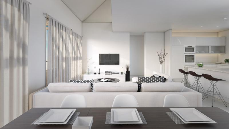 Highly Exclusive And Contemporary Style Apartments With Modern Interiors