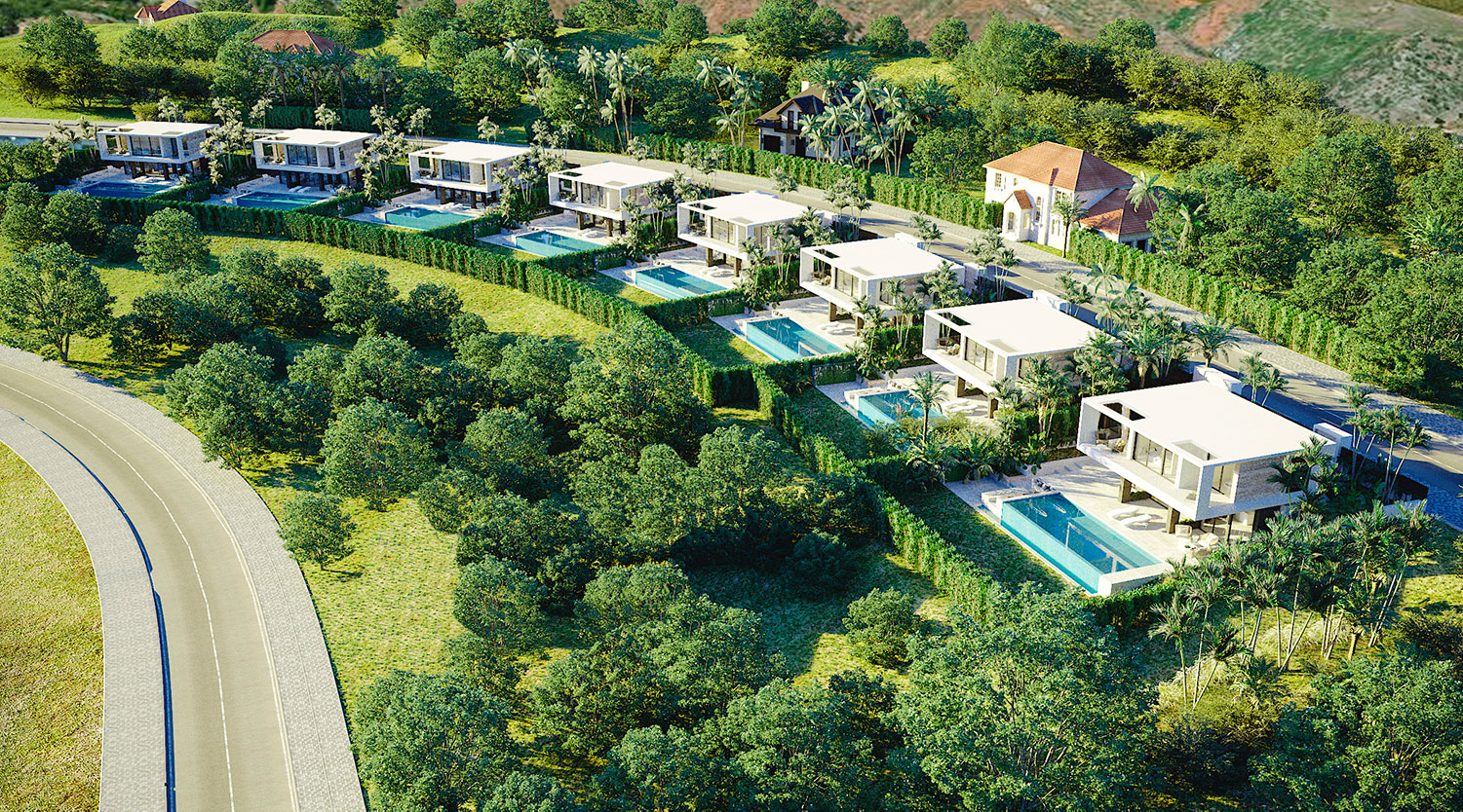 Wonderful Villas Surrounded by Magnificent Natural Environment