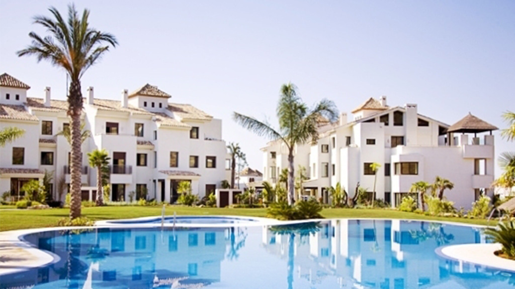 Modern and spacious apartments situated in the uppermost part of the resort