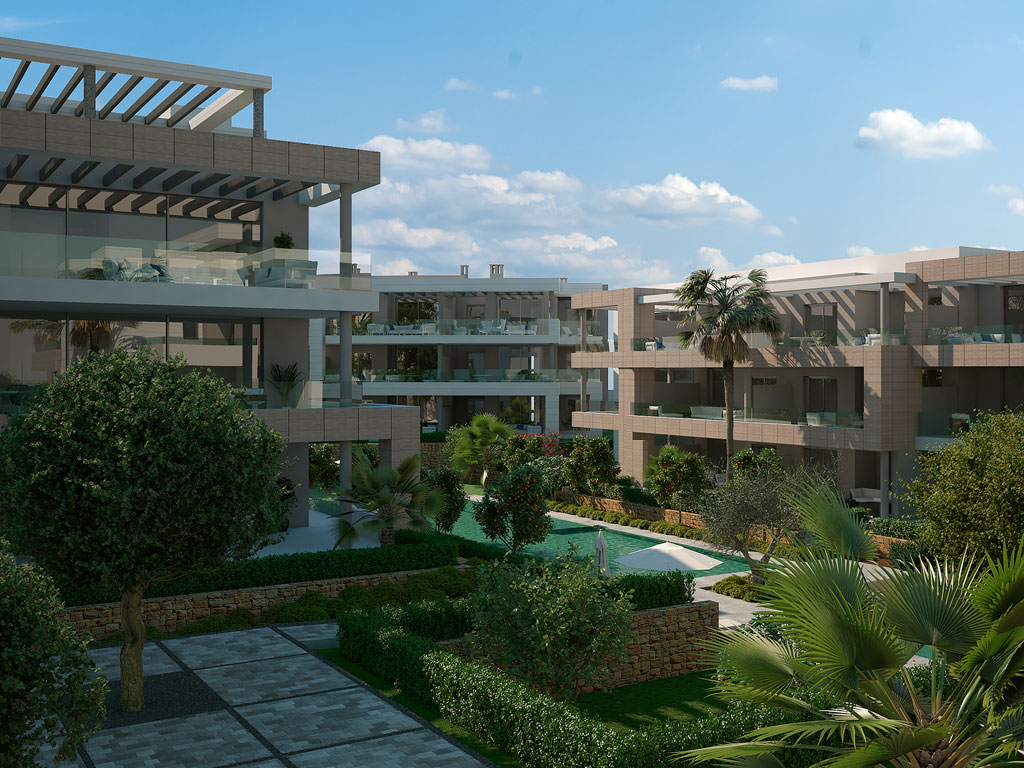 Luxury apartments & penthouses in Cancelada