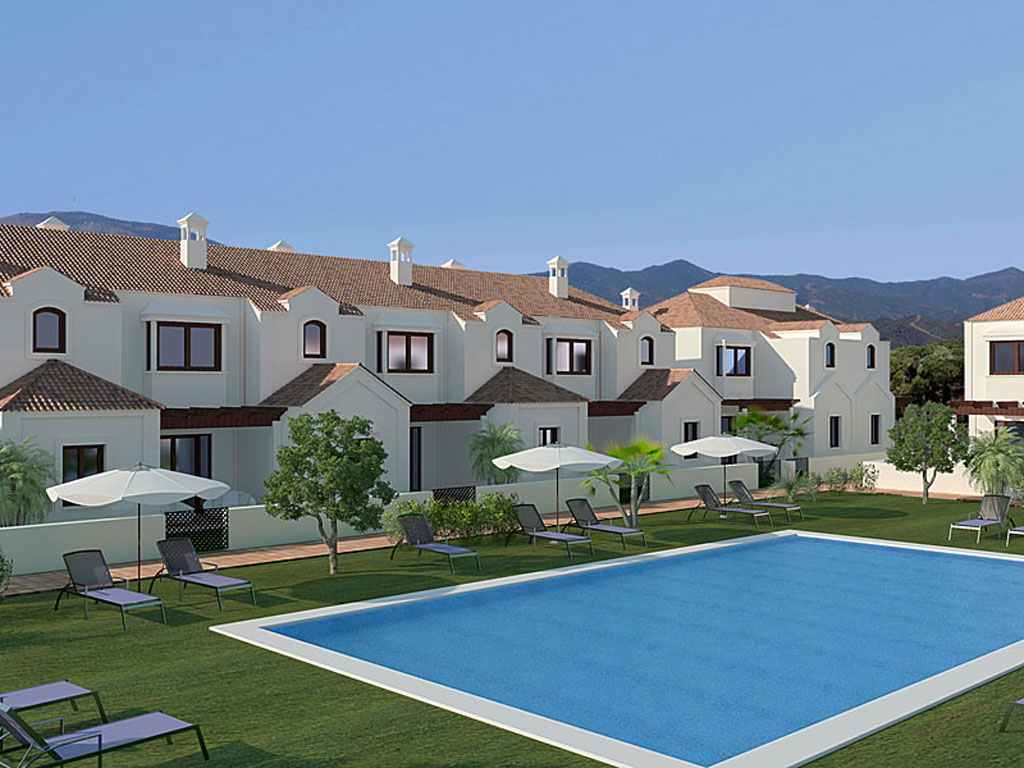 Semi detached homes in La Cala de Mijas