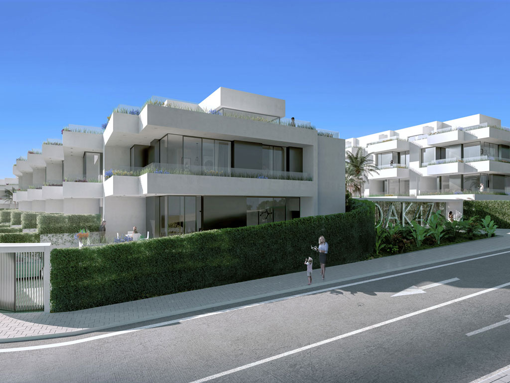 Boutique Development of Contemporary Townhouses
