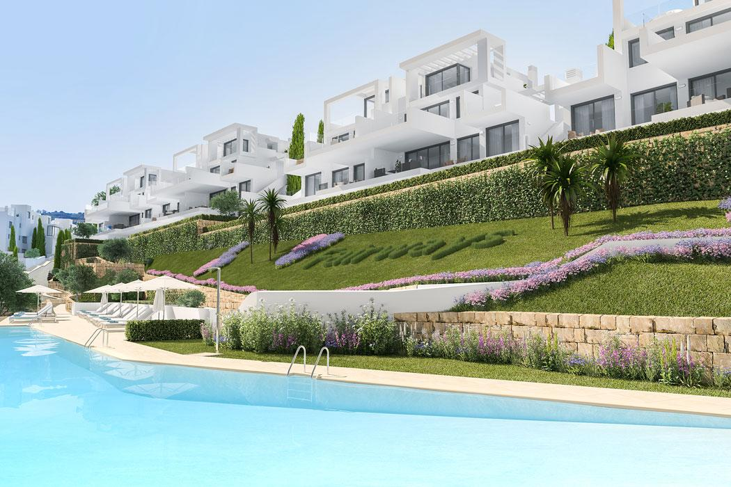 Modern golf & beach apartments in La Cala Golf Resort
