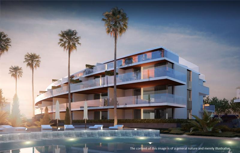 Luxury apartments with sea and golf views at Mijas Costa