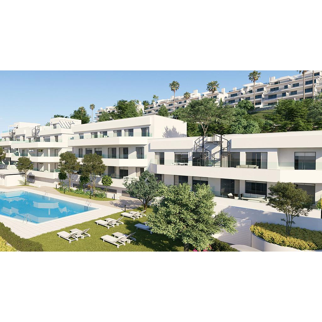 Avant-garde apartments in the New Golden Mile of Estepona