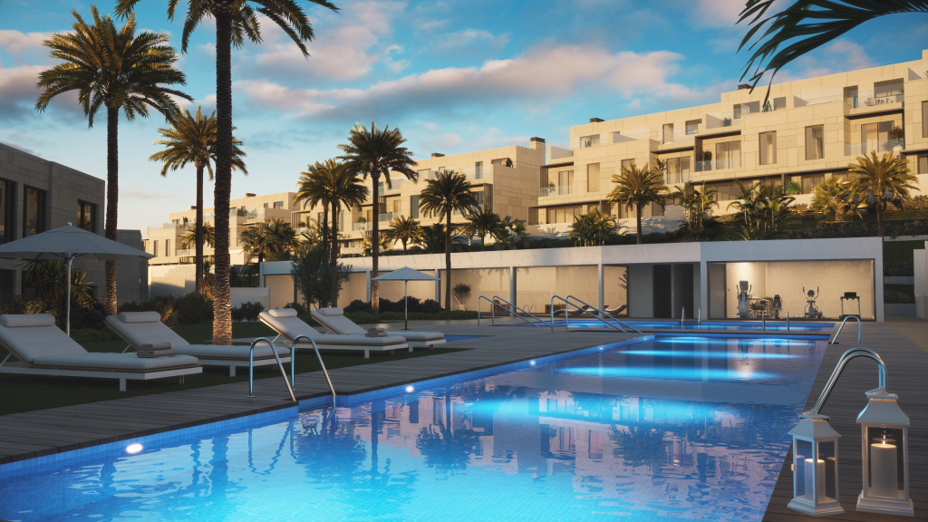 Spacious Townhouses at Selwo, Estepona